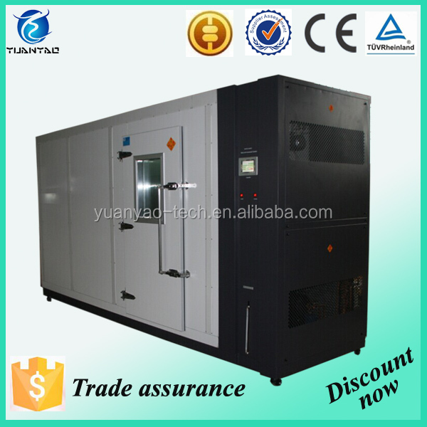 Temperature humidity controlled walk-in environmental chamber