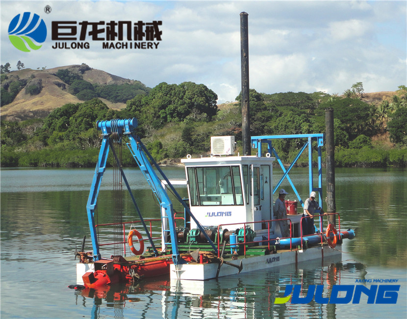 Hydraulic JLCSD-200 cutter suction dredger/dredge boat for sale