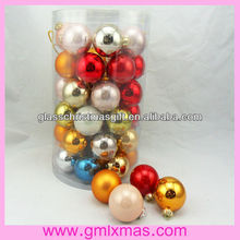 GML Factory The most popular christmas glass ball Ornament for family,Trade Assurance supplier
