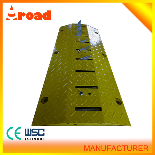 Iron One Way Road Traffic Tyre Killer Traffic Spike Road Barrier