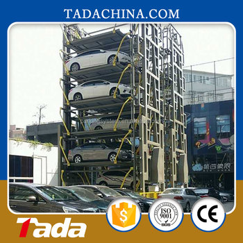 fast access automatic smart rotary parking system