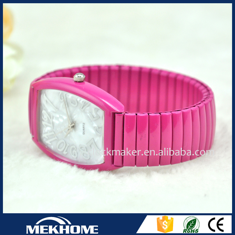 Fashion design metal meshband watches
