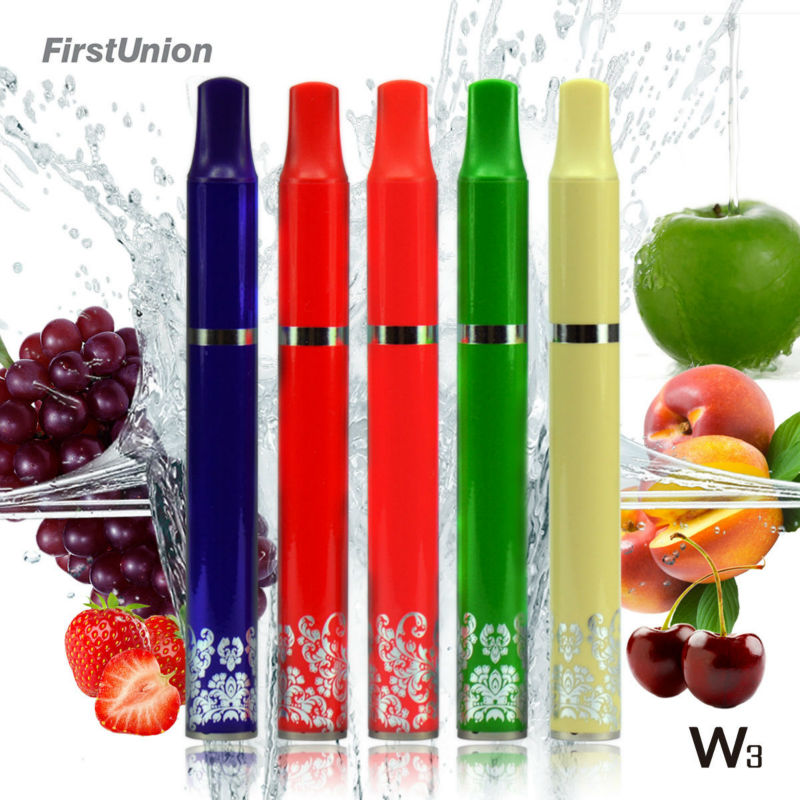 New products 2014 portable e hookah W3 1000puffs rich fruit flavors cigarettes rolling machine