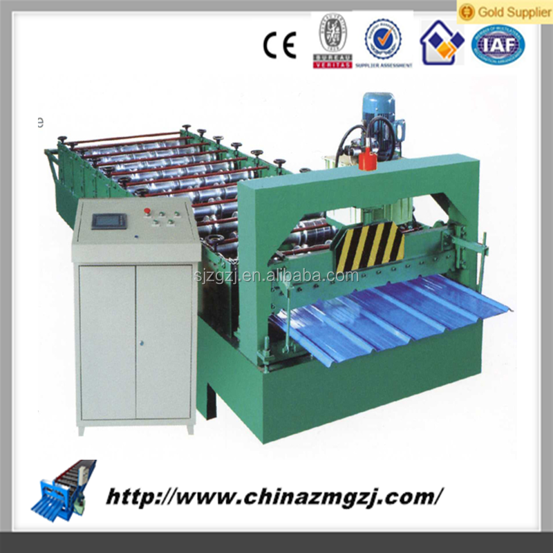 aluminum roof roll forming machine roof tile making machine from china for india