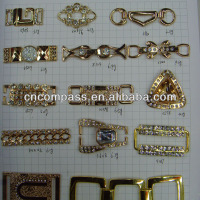 Fashion Metal Garment Accesories Rhinestone Buckle