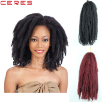 factory wholesale high quality crochet twist marley braid in stock