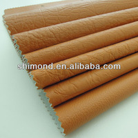 Orange Color PVC Synthetic Leather For Sofa, furniture etc
