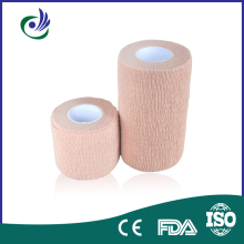 waterproof & color Cohesive Elastic Nonwoven Bandage/self-adhesive bandage latex-free/latex ce/fda/iso