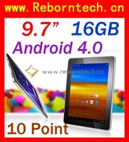 Tablet PC Android 4.0 RK2918 9.7 Inch Ten Point Wide Visual Angle Tablet PC