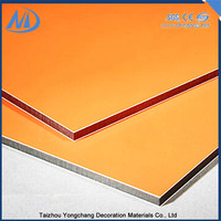 Fireproof double sided aluminum composite panels
