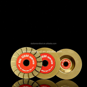 "4"" inch Diamond Coated FLAT Grinding Wheel Cutting Disc Saw"