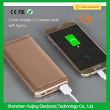 Quick Charge 2.0 Arun Golf Power Bank With LED SOS Function