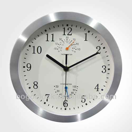 humidity buy wall mounting clock with temperature and humidity wall