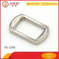 Plain handbag handle buckle decorative practical connection buckle