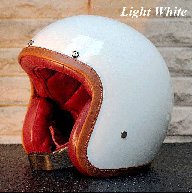 (Personalized & Handmade) Fashion universal motorcycle protective Half Helmets (solid color: beauty of simplicity)