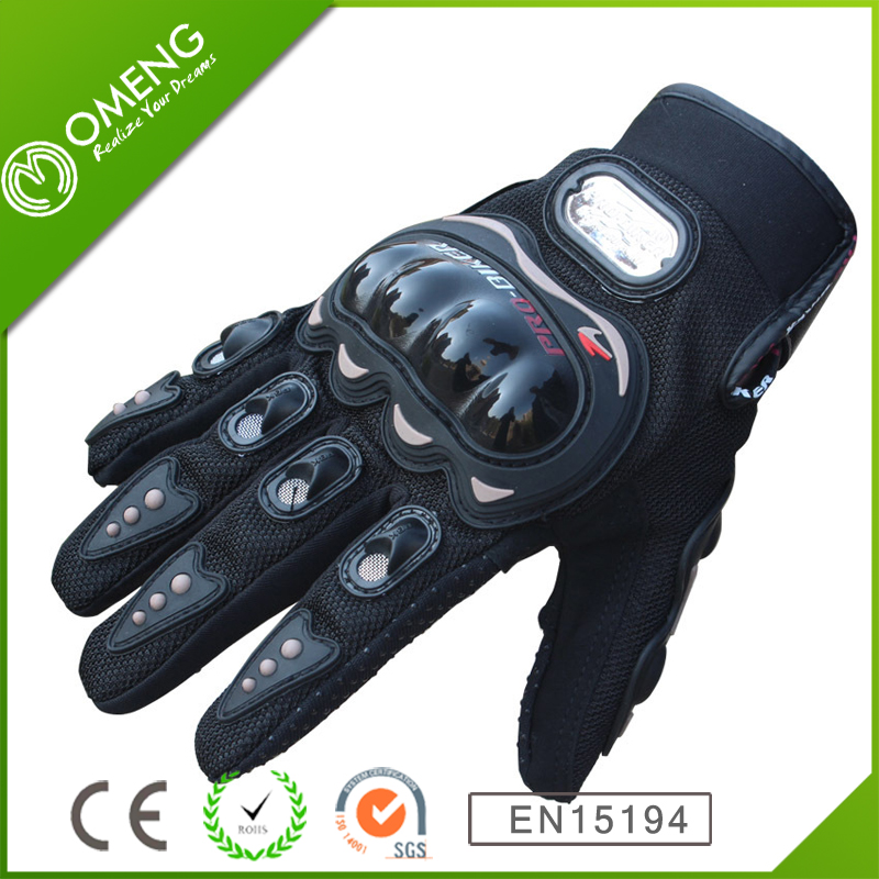 Custom polyester MTB bike custom Fullfinger motorcycle gloves bicycle glove
