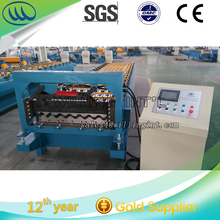 corrugated metal sheets/ roof pannel processing forming machine / corrugated tile sheeting roll forming machine