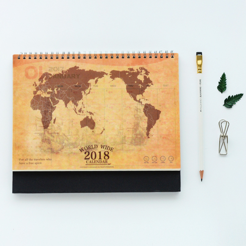 2020 new design fancy two years calender