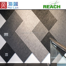 China wallpaper home decoration woven pvc fabric