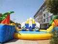China cheap water park equipment , inflatable water park for sale