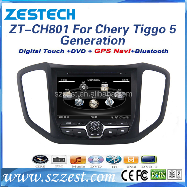 ZESTECH car bluetooth for Chery Tiggo 5 2014 car bluetooth accessories CD player