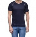 Mens polyester Dry Fit sports T shirts Top Tee shirts