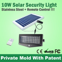 Hot Rechargeable Glass Waterproof Outdoor Solar Led Wall Light