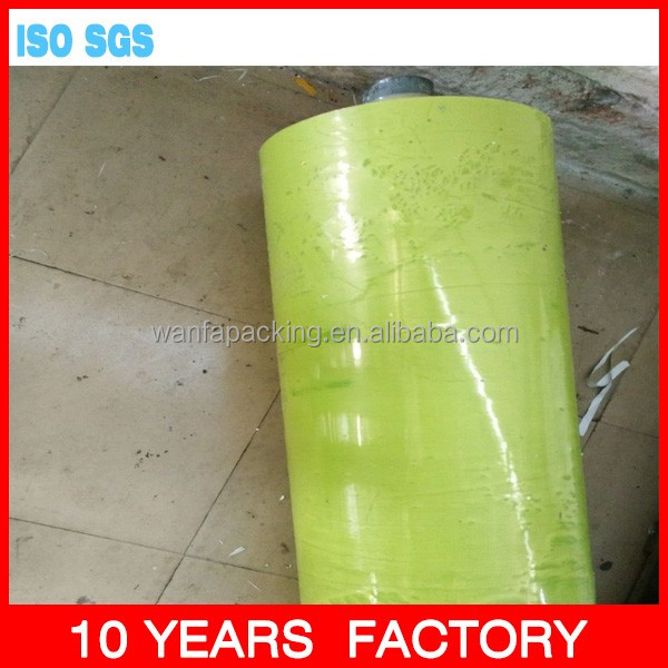 Transparent Yellow color protective film to South America