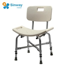 Heavy Duty Bariatric Bath Chair Shower Bench with Backrest