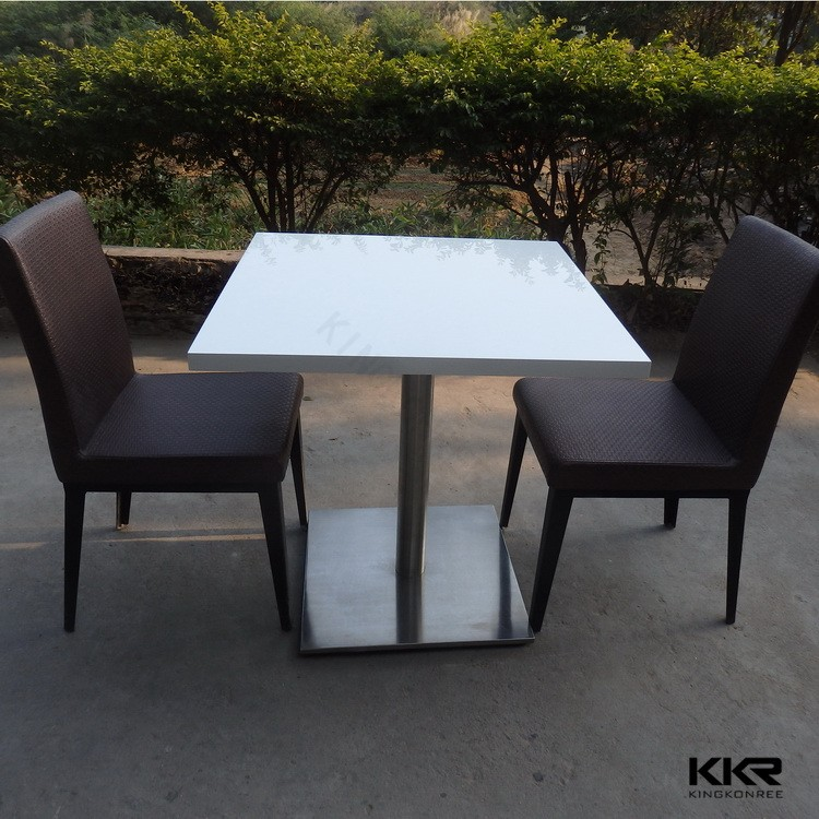 Resin imitation marble table top wholesale /solid surface table tops