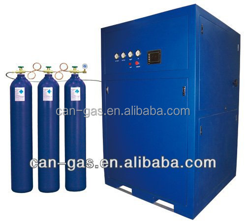Lower cost than liquid oxygen generator, oxygen filling station, containerized compact oxygen generator with cylinder filling st