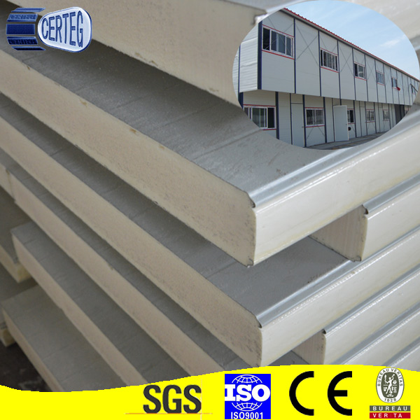 china factory panel sandwich/ cheapest pu sandwich panel price