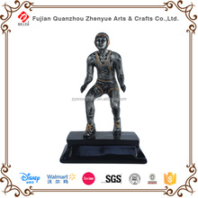 Artificial polyresin sport trophy figurine