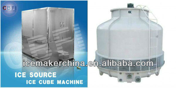 Small 1 Ton Ice Cube Making Machine for Bar