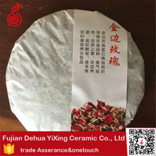 Gold Rose Health compressed yunnan pu erh <strong>tea</strong> Scented <strong>tea</strong>