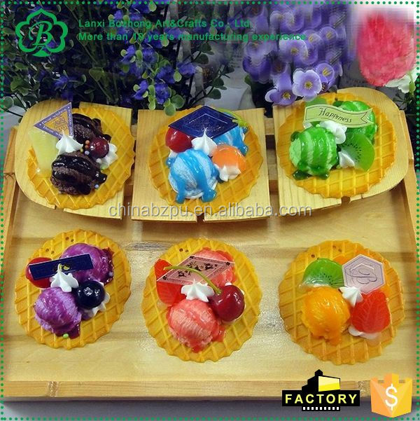Best seller excellent quality miniature artificial food directly sale