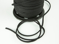 Black Suede Cord Faux Leather Jewelry Making/Beading/Thread flat DIY 3mm