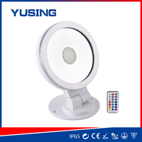 Factory supply round type colorful smd led flood light wall pack