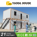 High Quality Prefabricated Living Two Story Container House