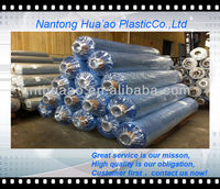 pvc film well packed with clear sheet,india blue fim,soft pvc film