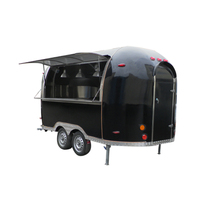 Best price best quality street australia standard mobile food trailer