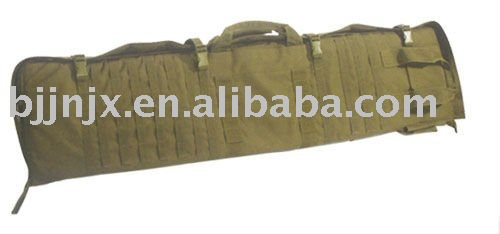 Mititary combat leather hand Gun Case for gun cover