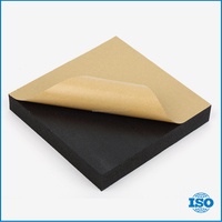 32mm Rubber flexible self adhesive heat insulation plastic PVC foam sheet