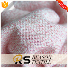 Shaoxing factory wholesale 100 cotton french terry knitted fabric cotton fabric