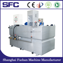 polymer dosing system oil filter press machine for wastewater treatment