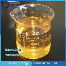 Dimer fatty acid for polyamide resin for coating