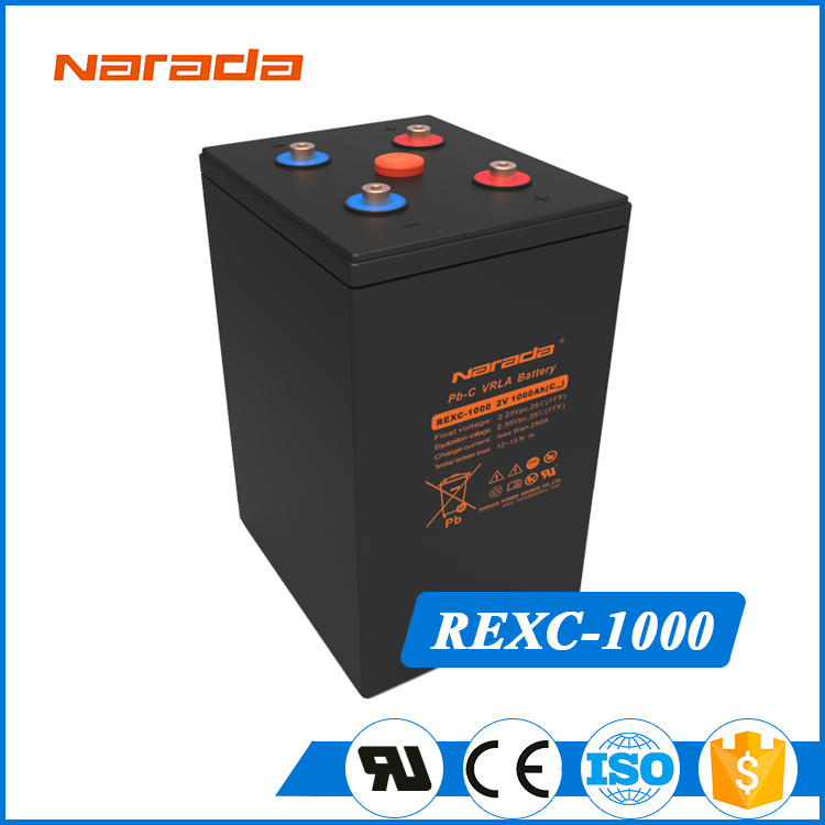 High Capacity REXC-1000 2v Opzv G-power Solar Battery