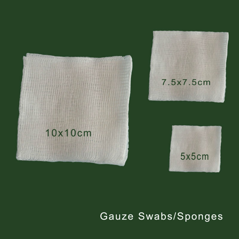 medical sterile wound care gauze dressing sponges
