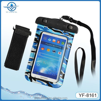 Top selling waterproof bag for All 4-4.7 inch screen phones with armband for running rafting beach
