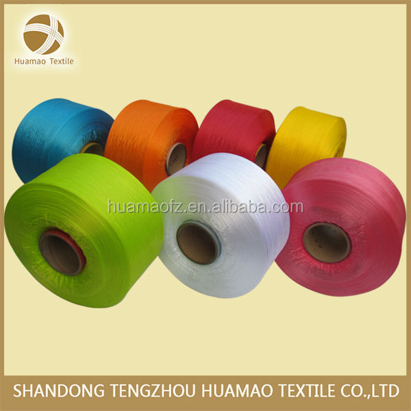 High Tenacity 100% pp yarn multifilament 900D/144F polypropylene yarn